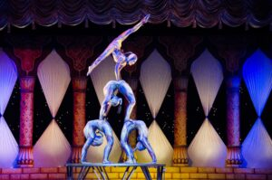wedding circus performers